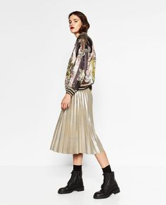 ZARA - WOMAN - LIMITED EDITION BOMBER JACKET