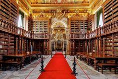 BIBLIOTECA JOANINA, PORTOGALLO    Biblioteche più belle del mondo (Foto 26/40) | NanoPress Viaggi