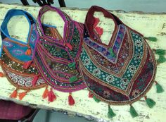 Bohemian style bags available at Charmed in Lynchburg, VA (434) 610-9124