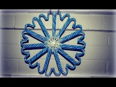 The Perfect DIY Christmas Candy Cane Wreath
