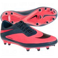 NIKE Womens Hypervenom Phatal FG Soccer Cleats