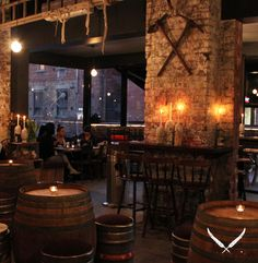 Tucked away behind the Jam Factory on Bray Street in South Yarra, The Sweetwater Inn takes you to place somewhere in the back of beyond. Weathered corrugated iron panels adorn the wall behind the bar whilst the rest of the space boasts distressed wood, cowhides, tall waxy candles and various Australiana.