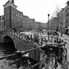 Amsterdam - Bicycles and canals (April 2013) - Photo taken by BradJill