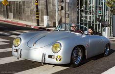 Learning To Drive In A Porsche Speedster Replica - Petrolicious