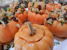 Stuffed Jack-Be-Little Pumpkins #tdayroundup