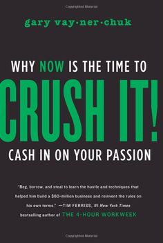 Crush it! Gary Vaynerchuk speaks about his life and makes you rethink what you want to do to be happy.