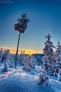 Winter in Finland | www.puuronen.com www.facebook.com/puuron… | Flickr