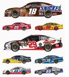 Paint Schemes: Sprint All-Star Race