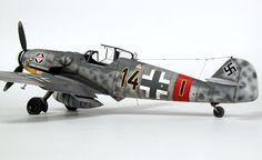 "Messerschmitt Bf 109G-6 ""Black 14"" by Chris Wauchop (Hasegawa 1/48)"