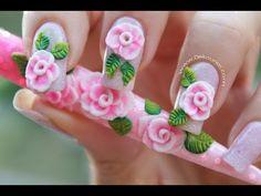 Decoración de uñas navidad MUÑECO DE NIEVE - Snowman nail art - YouTube