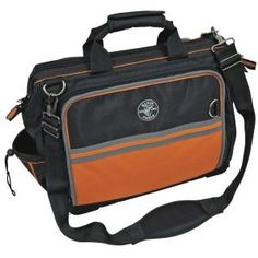 Klein Tools, Tradesman Pro Organizer Ultimate Electrician's Bag, 55418-19 at The Home Depot - Mobile