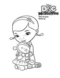 doc mcstuffins lambie coloring pages - 1000 images about coloring pages for c on pinterest