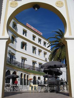 The hotel has hosted such guests as Winston Churchill and Agatha Christie in its time. Travel Around The World, Around The Worlds, Tangier Morocco, Best Resorts, Next Holiday, Exotic Places, Winston Churchill, Agatha Christie, Moorish