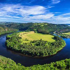 Czech Republic, Golf Courses, River, Landscape, Nature, Outdoor, Inspiration, Outdoors, Biblical Inspiration