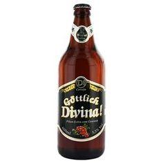 Cerveja Brasileira Pilsner Gottlich Divina Pilsen 600ml
