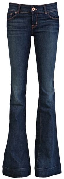 J Brand flared jeans. They need to jump into my closer because they'd be the best kind of casual Friday jeans!