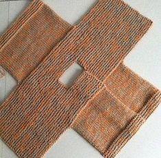 vite un gilet au tricot pour la rentrée [post_tags Baby Knitting Patterns, Baby Cardigan Knitting Pattern, Knitting For Kids, Loom Knitting, Baby Patterns, Free Knitting, Knitting Projects, Crochet Patterns, Knit Vest