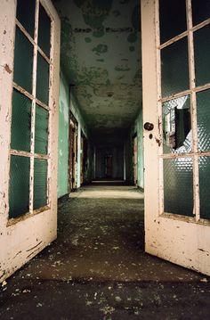 Hallway, Rolling Hills Asylum, East Bethany, NY