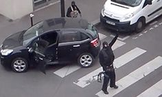 New video shows dramatic Paris shoot-off between Kouachi's and police