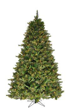 Christmas Tree 7.5u0027 Cashmere Pine Tree With 1650 Tips, UL 700 Dura