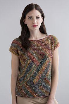 Victoria Top Knitting Pattern Filatura de la crosa - Tempo