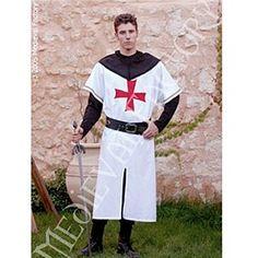 Foto Traje Medieval Templario Ver Blanco foto 434891