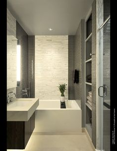 Chelsea24 Manhattan Loft - modern - bathroom - new york - Carol Kurth Architecture + Interiors