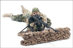 McFARLANE'S MILITARY SERIES 1 - MARINE CORPS RECON SNIPER ACTION FIGURE