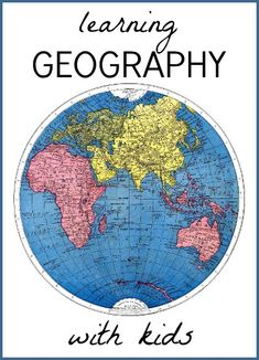 Learn geography by watching the Olympics. A simple map on the wall goes a long way.