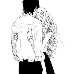 19, anime, boy, girl, hold, hug, idk, kiss, love