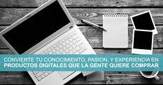Entrenamiento Gratis: Convierte Tu Conocimiento, Pasión, Y Experiencia En Productos Digitales Que La Gente Quiere Comprar. Regístrate ahora.