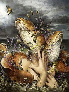 Surreal Illustrations by Hannah Yata