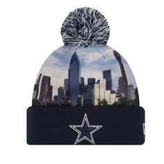 37283f9cc40 Dallas Cowboys New Era All Out Knit Hat