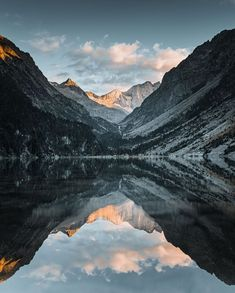 """Photographer Mickael Peralta shares his tips on capturing the perfect shot at Lake Gaube: """"the water is crystal clear, the lights warm and soft, the landscape is fabulous with the Vignemale in the background."""""""