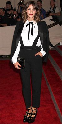 Alexa Chung - met gala 2010