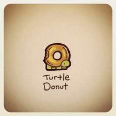 Turtle Donut #turtleadayjuly - @Turtle Wayne- #webstagram