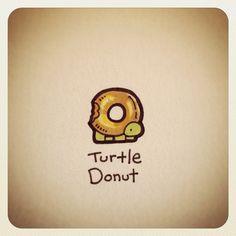 Turtle Donut #turtleadayjuly - @turtlewayne- #webstagram