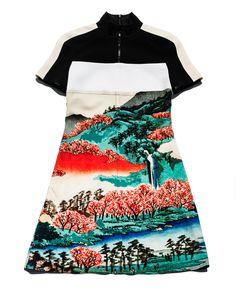 Carven Printed Dress / Garance Doré Goods