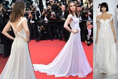 lily collins alfombra roja festival cannes ralph and russo alta costura