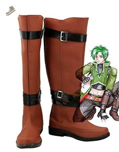 eba6ca7cf7f Fire Emblem  Radiant Dawn Sothe Cosplay Shoes Boots Custom Made Brown -  Telacos sneakers for