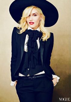 Gwen Stefani Photographed by Annie Leibovitz for Vogue US January 2013