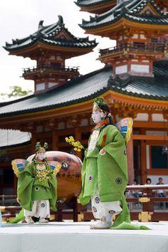 Kochou no mai 胡蝶の舞 - Kyou no matsuri 京の祭り (Kyouto festival) - Kyouto 京都 - June 2009