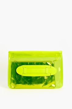 Neon Yellow Summer Clutch ☻                                                                                                                                                                  ⇜•ṄεΦЙ❉€яᗛƶΣ•⇝