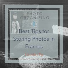In today's Tuesday tip, Living Peace professional organizer, Gabby Burgman gives us the inside scoop and points out the Do's, Don'ts and How-to's for storing photos in pictu…