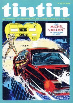 Le Journal de Tintin - Edition Belge - N°  1362 - 1972-43 - Mardi 24 Octobre 1972 - Couverture : Jean Graton
