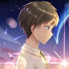 Secuil Gambar Anime - Kimi No Nawa - Halaman 3 - Wattpad Kimi No Na Wa Wallpaper, Wallpaper Wa, Cute Couple Wallpaper, Cute Anime Wallpaper, Anime Neko, Kawaii Anime, Anime Couples Drawings, Anime Couples Manga, Cute Anime Couples