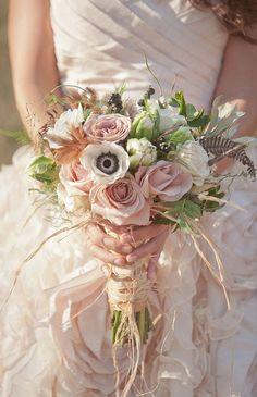 2017 pink wedding bouquet ideas