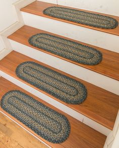 Best Braided Stair Treads Decor Primitive Stairs Stair 640 x 480