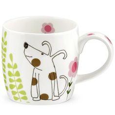 dog's dinner fine done china mug