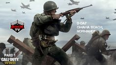 Call of Duty World War 2 Part 1 D-DAY | Normandy invasion 60fps